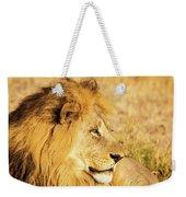 Lions Head Weekender Tote Bag