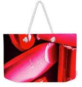 Lipgloss And Letdown Weekender Tote Bag