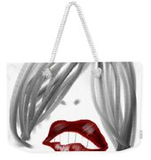 Lips Too Weekender Tote Bag