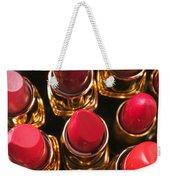 Lipstick Rows Weekender Tote Bag