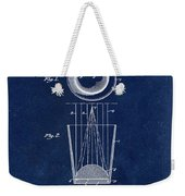 Liquershot Glass Patent 1925 Blue Weekender Tote Bag