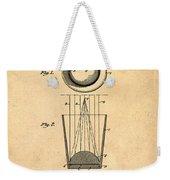 Liquershot Glass Patent 1925 Sepia Weekender Tote Bag