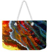 Liquid Abstract Fifteen Weekender Tote Bag