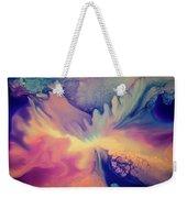 Liquid Abstract Nebula Weekender Tote Bag