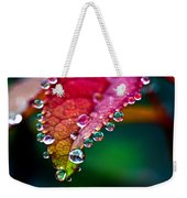 Liquid Beads Weekender Tote Bag
