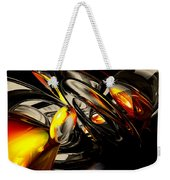 Liquid Chaos Abstract Weekender Tote Bag