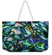 Liquid Geometric Abstract Weekender Tote Bag