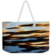 Liquid Setting Sun Weekender Tote Bag