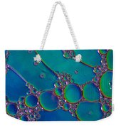 Liquid Turquoise River Stone  Weekender Tote Bag