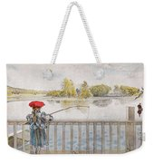 Lisbeth Angling. From A Home By Carl Larsson Weekender Tote Bag