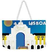 Lisboa Lisbon Portugal Horizontal Scene Weekender Tote Bag