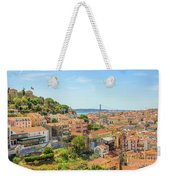 Lisbon Aerial View Weekender Tote Bag