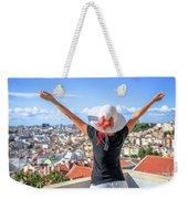 Lisbon Panorama Enjoying Weekender Tote Bag