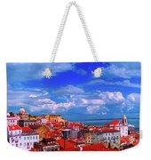 Lisbon Panorama Weekender Tote Bag