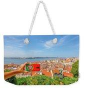 Lisbon Pictures Aerial Weekender Tote Bag