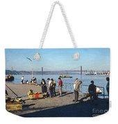 Lisbon Pier 4 Weekender Tote Bag