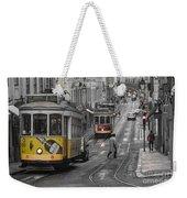 Lisbon Trams Weekender Tote Bag