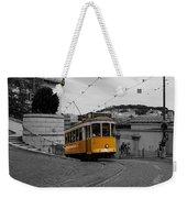 Lisbon Trolley 10c Weekender Tote Bag