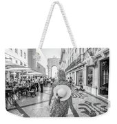 Lisbon Woman Lifestyle Weekender Tote Bag