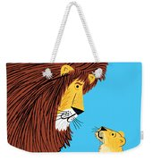 Listen To The Lion Weekender Tote Bag