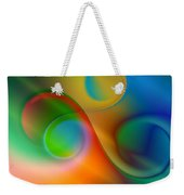 Listen To The Sound Of Colors -2- Weekender Tote Bag by Issabild -
