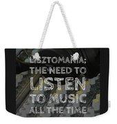 Lisztomania Weekender Tote Bag