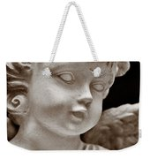Little Angel - Sepia Weekender Tote Bag