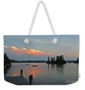 Little Bald Lake Weekender Tote Bag