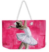 Little Ballerina Weekender Tote Bag