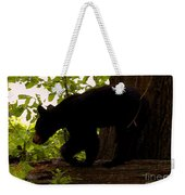 Little Black Bear Weekender Tote Bag