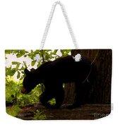 Little Black Bear Weekender Tote Bag