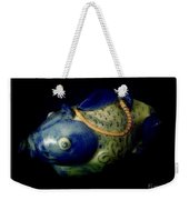 Little Blue And White Fish Tea Pot Still Life Weekender Tote Bag