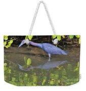Little Blue Fishing Weekender Tote Bag