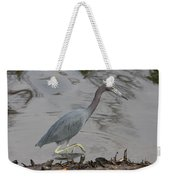 Little Blue Heron Walking Weekender Tote Bag