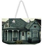 Little Blue House Weekender Tote Bag