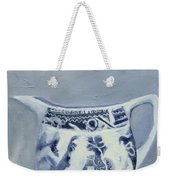Little Blue Jug Weekender Tote Bag