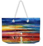 Little Boat Weekender Tote Bag