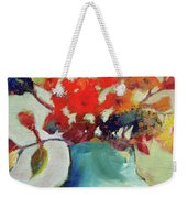 Little Bouquet Weekender Tote Bag by Michelle Abrams