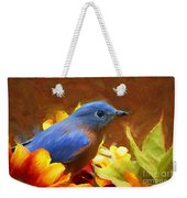 Little Boy Blue Weekender Tote Bag