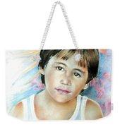 Little Boy From Tahiti Weekender Tote Bag