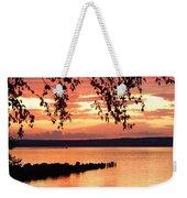 Little Breakwall Sunset Weekender Tote Bag