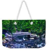 Little Bridge - Japanese Garden Weekender Tote Bag