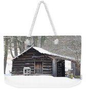 Little Cabin Weekender Tote Bag