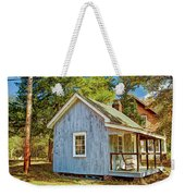 Little Cabin In The Country Pine Barrens Of New Jersey Weekender Tote Bag