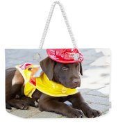 Little Chief Lab Pup Weekender Tote Bag