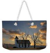 Little Church On The Prairie Weekender Tote Bag