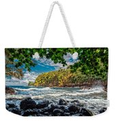 Little Cove On Hawaii' Weekender Tote Bag