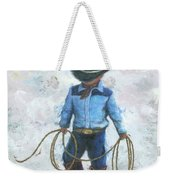 Little Cowboy Lasso Weekender Tote Bag
