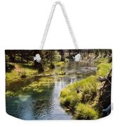 Little Deschutes Photograph Weekender Tote Bag
