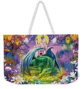 Little Dragon Weekender Tote Bag